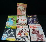 Vintage 1960's The Ring Boxing Magazine Lot 7 Pc, April And June '60, May '61, Etc