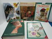 Art Book Lot Of 5 Vintage 90s Hisrory Decorative Painting
