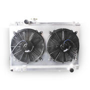 3-row Radiator W/fans Combo For 1986-1992 Toyota Supra 3.0 Turbo 7m-gte 7m-ge Mt