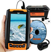 Rechargeable Underwater 4.3 Hd Camera Fish Locator Finder 20m Cable W/ Ir Led