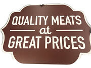 Lot Of Large And Medium Grocery Store Signs