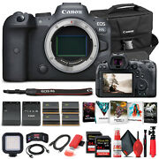 Canon Eos R6 Mirrorless Camera Body Only 4082c002 - Pro Bundle