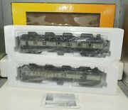 Railking Mth O-scale 30-69171 Baltimore And Ohio 2-car 60 Madison Combo/diner Set