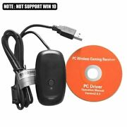 Alloyseed Wireless Gamepad Pc Adapter Usb Receiver For Microsoft Xbox 360 Game