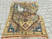 18 Th Central Anatolian Rug Fragmenthand Knotted Rugturkish Antique Rug
