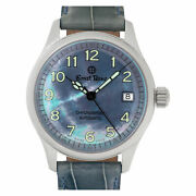 Ernst Benz Chronosport 30200 Stainless Steel Mother Of Pearl Dial 35.5mm...