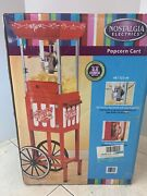Nostalgia Electrics Compact Old Fashioned Movie Time Popcorn Maker New