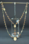 19thc Large Antique Nunand039s Habit Rosary Our Lady Of Sorrows Corozo All Caped
