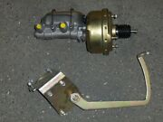 1933 34 Ford 7 Power Brake Booster Master Cylinder Pedal Assembly Display Sale