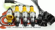 Toyota 4runner 22re Bosch Direct Replacement Fuel Injectors For 1985-1987 Model