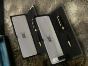 Mont Blanc - Matching Pen And Mechanical Pencil 164 Vintage 1994
