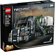 Lego Technic 42078 Mack Anthem 2 In 1 Garbage Truck Container New Sealed