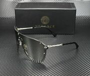 Versace Ve2180 10006g Silver Light Grey Mirror Silver 44 Mm Womenand039s Sunglasses