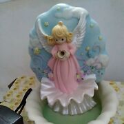Precious Moments 440981 Angel Fountain Limited Edition Very Rare