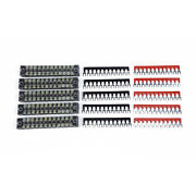 100a Bus Bar Kit Terminals Included Power Distribution Block 660v For Cars Yacht