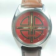 Vintage Seiko 5 Mechanical Automatic Movement Day Date Dial Mens Watch Ba25