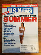 U.s. News And World Report July 3-10 2006 Secrets To A Stress-free Summer
