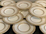 Wedgwood Colonnade Gold Small 4 3/4 Round Nut Dishes Set Of 16