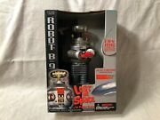 Nib 1998 Trendmasters Robot B-9 Lost In Space Light Up Sound Motorized Rolling