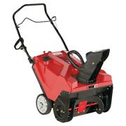 Troy Bilt Snow Blower Electric Start 21 In 179 Cc Single Stage Gas Chute Control