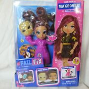 Failfix Loves Glam Doll Day Look Moose Toys Brand New Fail Fix Makeover