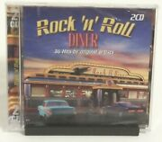 Double Disc - 36 Hits By Original Artists Rock N Roll Diner Cd Sealed