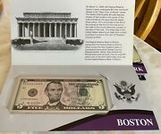 12 Us 5 Notes - Unc, Bep, 12 Federal Reserve District Collection