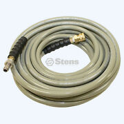 Pressure Washer Hose 50 Ft, 3/8 Inlet, 4500 Psi, 250 Degrees F Max  758-717