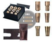 Gift Pack. Bach Trumpet Trim Kit +booster+gift. Antique Bronze Lacquer. Kgubrass
