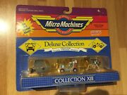 1989 Micro Machines Deluxe Collection Xiii Opening Moving Parts Nip Galoob New