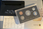 1998-s 90 Silver Proof Set United States Mint Original Government Packaging Box