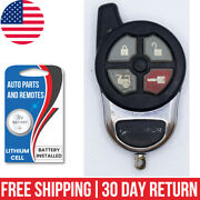 Used Excalibur Keyless Entry Aftermarket Remote Control Start Fob Elv147