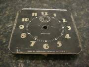 Vintage Ornate Westclox 4 Made In Usa Dial Clock For Restoration D118d