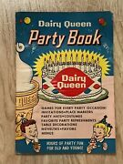 1960 Dairy Queen Party Planning Book Themes Games Menus And More Retro