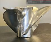 Ski Prop Stainless Steel 22p 4 Blade Fits Omc Rh Used