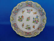 Herend Queen Victoria Traced Wall Plate Porcelain Vbo