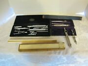 Vintage Drafting Tools Includes Nestler's Prazion Set And Other Drafting Tools