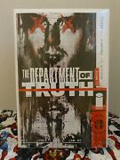 The Department Of Truth 1 110 Lee Harvey Oswald Variant Image Comics