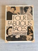 Four Fabulous Faces By Larry Carr- Garbo Swanson Dietrich Crawford- Penguin Book