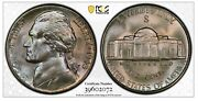 1943-s Jefferson Nickel Pcgs Ms68 Top Pop 5/0 Gold Shield And Trueview