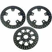 For Harley Touring 2014+ Front Rear Brake Discs Rotors Road King Electra Glide