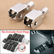 Frontandrear Foot Pegs Connection Adapter For Honda Shadow 1100 Spirit/sabre 00-07