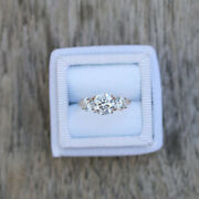 1.00 Ct Round Real Diamond Ring Solid 14k Yellow Gold Engagement Band 5 6 7 8
