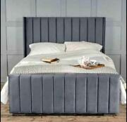 Ottoman Divan Storage Bed With 54 Floor Standing Head Board. - Made To Order.
