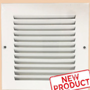 6 X 6 Air Return Vent Cover Duct Size Grille Steel Wall Sidewall Ceiling White