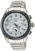 Seiko Astron Watch Solar Gps Dual Time Notation Sbxb047 Menand039s From Japan