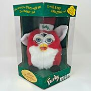 Santa Furby Christmas Red 1999 Special Limited Edition 70-885 Tiger Elec Sealed