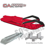 Canda Pro Xcs Snowmobile Skis Red Arctic Cat Ext 580 Powder Special 1995-1996