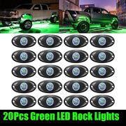 20x For Ford F150 Neon Green Under Car Accent Underbody Led Glow Rock Lights Pod