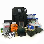 Sirius Survival Pre-packed Emergency Survival Kit/bug Out Bag For 2 - 150+ Pcs